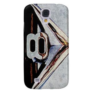 Grunge V8 Big Block Emblem Samsung Galaxy S4 Cover