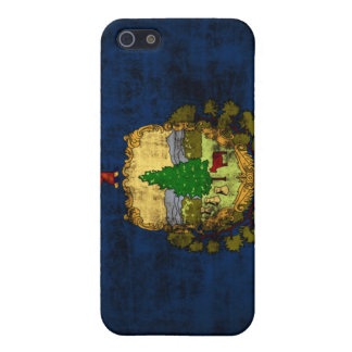 Grunge Vermont State Flag iPhone SE/5/5s Case