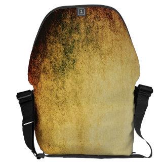 Grunge Vintage Abstract Large Messenger Bag