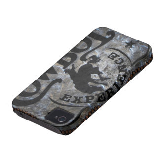 grunge vintage rustic western country cowboy rodeo iPhone 4 case