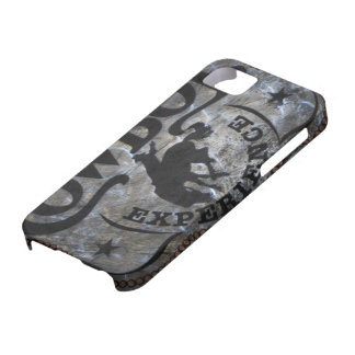 grunge vintage rustic western country cowboy rodeo iPhone SE/5/5s case