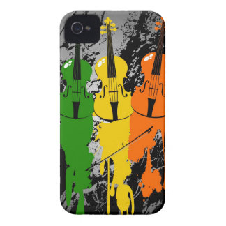 Grunge Violins iPhone 4/4S Case
