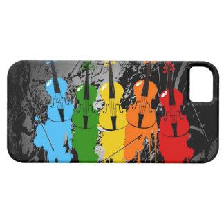 Grunge Violins iPhone 5 Case