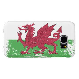 Grunge Wales Flag Samsung Galaxy S6 Case