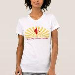 Grunge Walking On Sunshine T-shirt