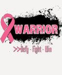 Grunge - WARRIOR - Breast Cancer Tees