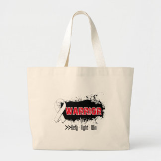 Grunge - WARRIOR - Lung Cancer Bags