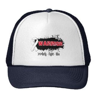 Grunge - WARRIOR - Retinoblastoma Mesh Hats