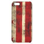 Grunge Washington DC Flag iPhone 5C Case