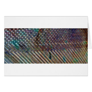 Grunge weave abstract art greeting card