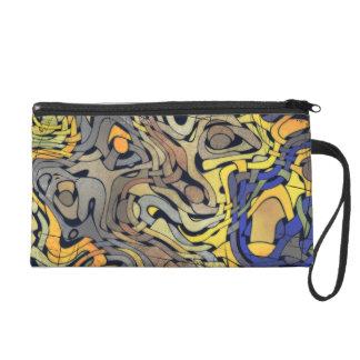GRUNGE WEAVE Clutch/Accessory Bag