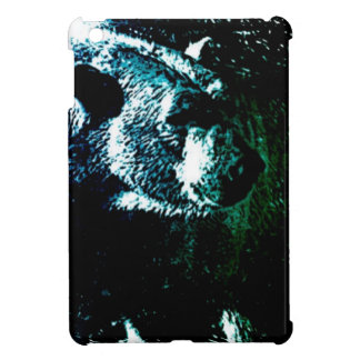 Grunge wilderness wildlife arctic polar bear cover for the iPad mini