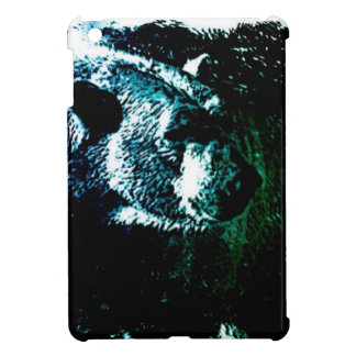 Grunge wilderness wildlife arctic polar bear iPad mini covers