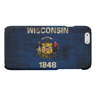 Grunge Wisconsin Flag Matte iPhone 6 Case