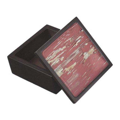 Grunge Wood Premium Gift Box