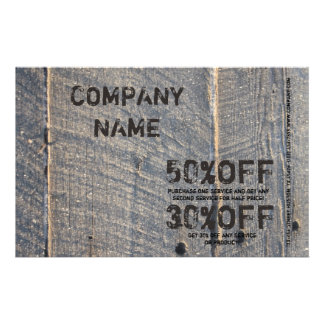 grunge wood Renovation Carpentry Construction Flyer