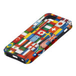 Grunge World Flags Collage Design iPhone 5 Covers