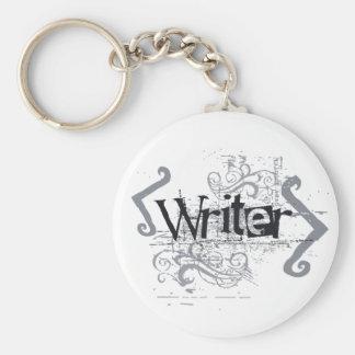 Grunge Writer Key Chain