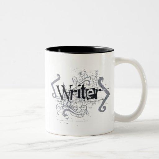Grunge Writer Mug