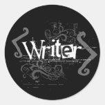 Grunge Writer Sticker