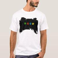 Grunge Xbox Controller T-Shirt