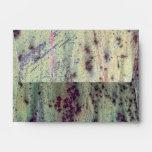 Grunge Yellow & Magenta Rusted Metal Pattern Envelope