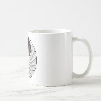 Grunge Yin Yang Sign Coffee Mug