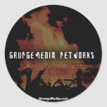 GrungeMedia Networks Stickers (20, Small)