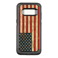 Grungy American Flag USA