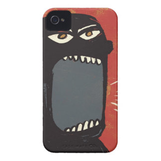 Grungy Angry Man Case-Mate iPhone 4 Cases
