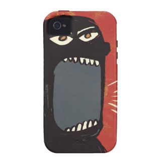 Grungy Angry Man iPhone 4/4S Cover
