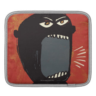Grungy Angry Man Sleeves For iPads