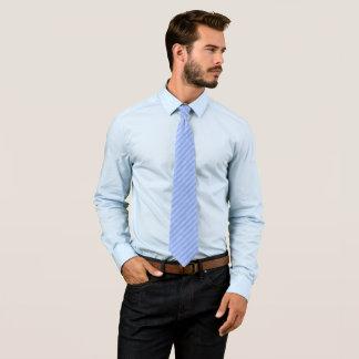 Grungy Baby Blue Stripe Tie