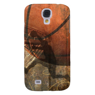 Grungy Basketball Samsung Galaxy S4 Covers