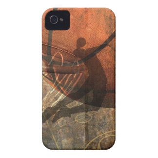 Grungy Basketball Case iPhone 4 Cases
