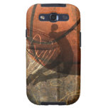 Grungy Basketball Case Galaxy SIII Cases