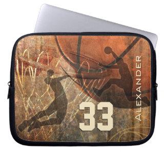 Grungy Basketball Sleeve