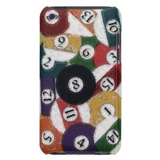 GRUNGY BILLIARDS BALLS BARELY THERE iPod COVER
