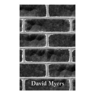Grungy Brick Wall Stationery