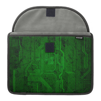 Grungy circuit sleeve for MacBook pro