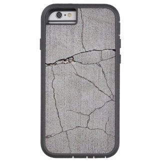 Grungy, cracked cement iPhone 6 case