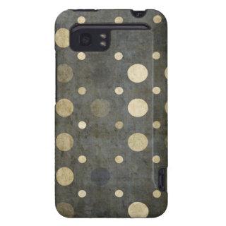 Grungy Dark Polka Dot Pattern HTC Vivid / Raider 4G Case