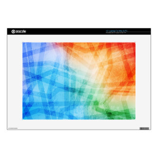 Grungy design laptop skin