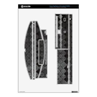 Grungy Diamond Pattern PS3 Console Skin