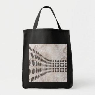 Grungy Dots Design Tote Bag