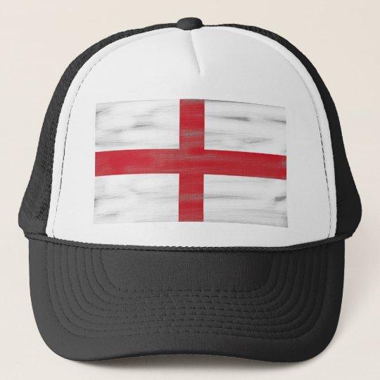 Grungy England Flag Trucker Hat