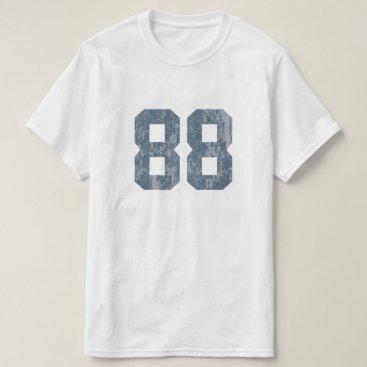 JerryLambert Grungy Faded 88 Blue T-Shirt