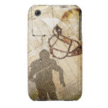 Grungy Football Case-Mate iPhone 3 Cases