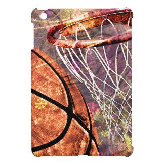 Grungy Girly Basketball iPad Mini Cover