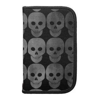 Grungy gothic skulls rickshawfolio